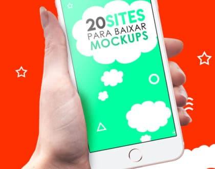 20 sites com centenas de Mockups Free! (Grátis)