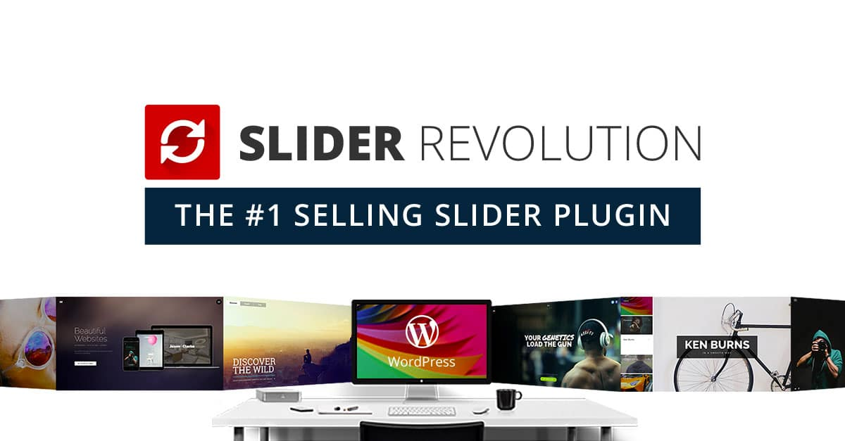 Premium WordPress Plugins v5.4.6.6 Slider Revolution Responsive to WordPress
