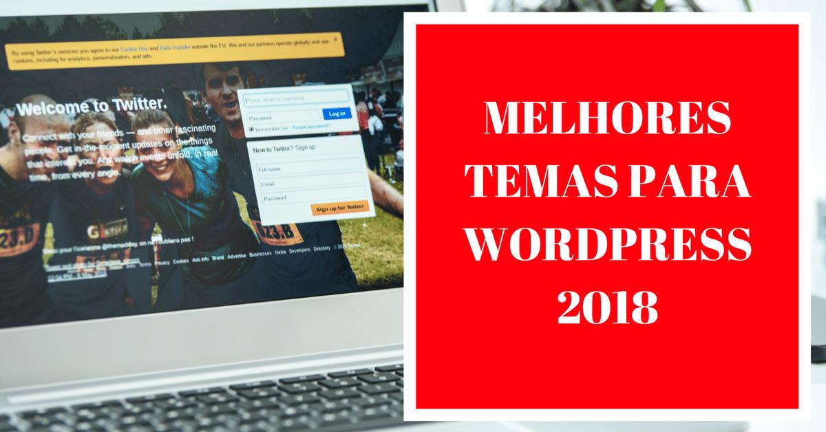 Melhores temas para WordPress 2018 por Escola Ninja WP