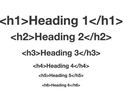 H1, H2 e H3 – O que são as heading tags e como usá-las